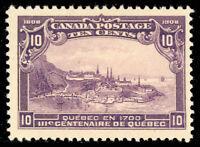 Canada 101, Mint 10¢ VF LH Beauty! Unitrade $300.00 - Stuart Katz