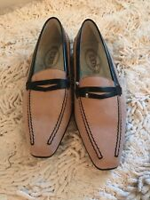 Tods ( tod's)  loafers/ flats women shoes Size 37 /7 mauve suede retail $400