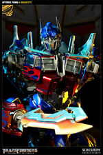 1 SIDESHOW EXCLUSIVE  EX TRANSFORMERS OPTIMUS PRIME MOVIE Maquette #/150