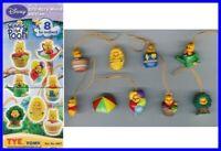Set 8 Figuras Winnie Pooh 100 Acre Mini Peek En Tomy
