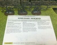 Warhammer Age Of Sigmar Malign Sorcery Soulsnare Shackles Endless Spell