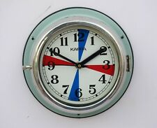Vintage Original Slave Clocks Nautical Marine Time Ship Kappa Quartz Clock Korea