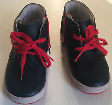 Clarks Boys Ankle Boots 'Maltby Run' SHOES SIZE 9.5 G - 9.5F