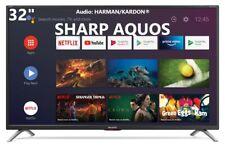 "Televisore SMART TV SHARP AQUOS 32"" LED HD Decoder DVB-T2 HDMI ANDROID 32BI5EA"