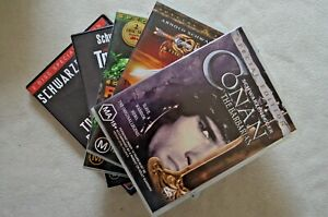 Various Arnold Schwarzenegger DVDs Choose From Predator Conan Total Recall