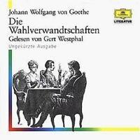 GERT WESTPHAL - JOHANN WOLFGANG V.GOETHE-WAHLVERWANDTSCHAFTEN  8 CD HÖRBUCH NEU