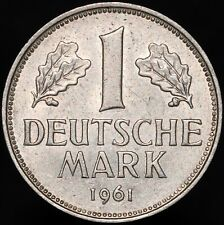 More details for 1961 g | germany 1 mark | cupro-nickel | coins | km coins