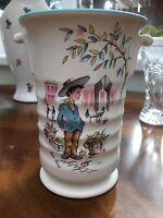 Vintage Vase Crown Ducal  'PETIT PIERRE' 1950's/ 60's