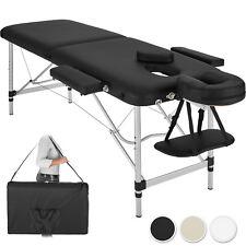 Table Banc Lit de massage pliante Cosmetique en Aluminium esthetique Sac 2 Zones