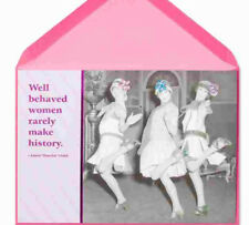 PAPYRUS CARDS WELL BEHAVED WOMEN FLAPPERS DANCE FRIENDS SOLD OUT