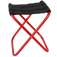 Outdoor Foldable Fishing Chair Ultra Light Weight Portable Folding Camping U3S8