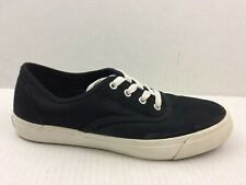 Keds Pro Womens 7.5 M Black Classic Low Top Canvas Sneaker Shoes Casual Comfort