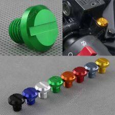 2PCS Green Mirror Hole Plugs For Kawasaki ER-5 KLE500 KLR250 KLR650 Vulcan 1700