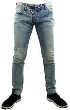 JEANS HOMME ADREXX SLIM W29L32 T.38 FR  NEUF FASHION JAPAN USED DROIT CIPO BAXX