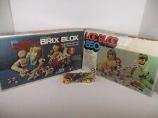 BRIX BLOX Construction Set 990 pieces, Loc Bloc 790 Pieces & Small Lego Set