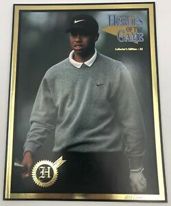 Tiger Woods 1997 Heroes of the Game Collectors Edition Magazine #/3000 Rookie Yr