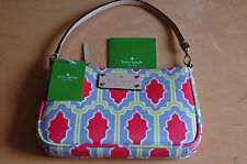 NWT KATE SPADE Cabana Tile Wristlet/ Clutch/ Purse - 100% AUTHENTIC