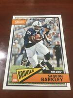 SAQUON BARKLEY ROOKIE CARD Penn State 2018 Football CLASSICS RC New York Giants!