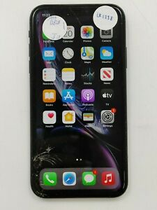 Apple iPhone XR A1984 128GB AT&T Check IMEI Cracked -LR1238