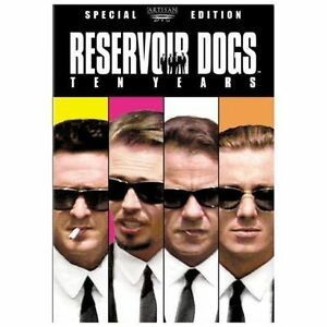 Reservoir Dogs (DVD, 2003, 2-Disc Set, 10th Anniversary Edition) NEW