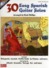 30 Easy Spanish Guitar Solos Learn to Play Flamenco Music Book Style DOWNLOAD