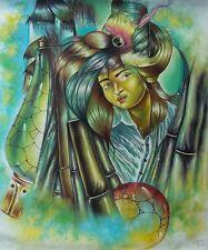 Original Art Painting Oil Canvas Cuban Art Arte Cuba YOANDRIS PEREZ BATISTA 7