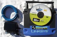 Linksys WRT54G V6 DD-WRT Wireless broadband Repeater Bridge range extender WIFI