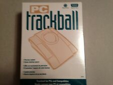 PC Trackball Mouse Products Model #38758A NEW SEALED