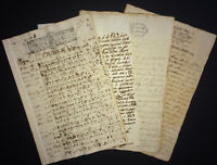 1837 Colonial Spain Territorial Division of Artemisa Archive 4 documents 67pgs