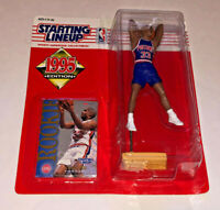 1995 NBA Starting Lineup GRANT HILL Rookie Detroit Pistons Action Figure New