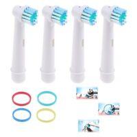 4 Stück elektrische Zahnbürste Ersatzköpfe für Oral-B Braun Serie Modell I5M3