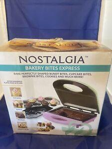 Nostalgia Electrics 4 in 1 Bakery Bites Express, Used