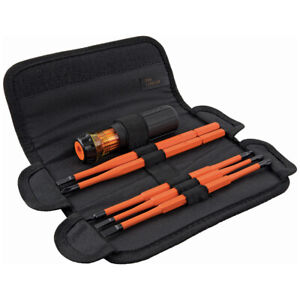 Klein Tools 32288 8-in-1 Insulated Interchangeable Screwdriver Set