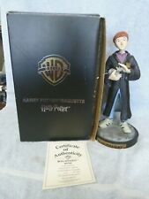 Rare Harry Potter/Ron Weasley Maquette Figurine 0009/2500 Excellent Condition
