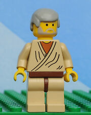Lego minifigures STAR WARS sw023a Obi-Wan Kenobi Old- set 4501 minifig Star Wars