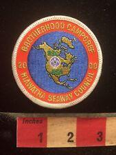 2000 Brotherhood Camporee Hiawatha Seaway Council Boy Scout Patch 70WI