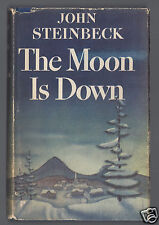 JOHN STEINBECK The Moon is Down 1st Edition First State HC/DJ