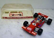 Politoys 000000 Ford March F1 Formel 1 Rennwagen, mit Box, Andretti, Nr. 3