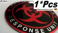 >1°Pcs Auto PKW Abzeichen Plakette Metall Aufkleber Zombie >Universal >1A-Qualy<