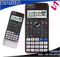 CALCULADORA CASIO FX-991SPXII UNIVERSIDAD BACHILLER TECNICA CIENTIFICA ORIGINAL