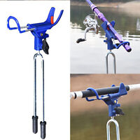 360 Degrees Adjustable Stainless Steel Fishing Rods Holder Bracket Fish Tools