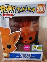 Funko Pop! Pokemon Vulpix flocked #581 Pop! Vinyl Figure NEW Extremely Rare