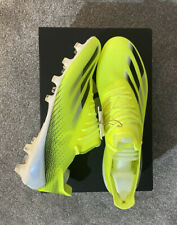 Adidas X Ghosted Football Boots Solar Yellow UK 10 Astro Grass Outsole New