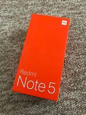 Xiaomi Redmi Note 5 4GB 64GB - Unlocked - Global Version- Black