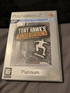 ps2 tony hawks underground