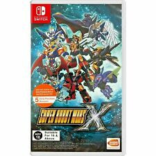 SUPER ROBOT WARS X SWITCH ASIA ENGLISH NEW SEALED Ships from Europe