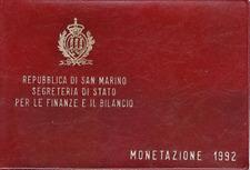 Divisionale Lira San Marino 1992 - SCOPERTA DELL AMERICA - 10 Valori