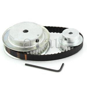 CNC Machine XL 40 20 Teeth Timing Pulley Belt Set Kit Reducer Ratio 2:1