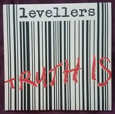 """Levellers - Truth Is / Your Parade  - Red 7"""" Vinyl Single - New"""
