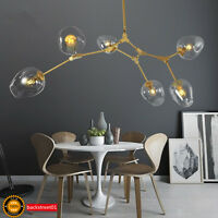 Lindsey Adelman Gold Lights Glass Chandelier Suspension Hanging LED Pendant Lamp